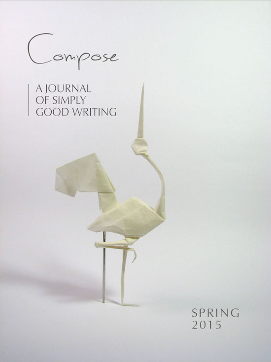 Spring 2015 Cover, Compose Journal
