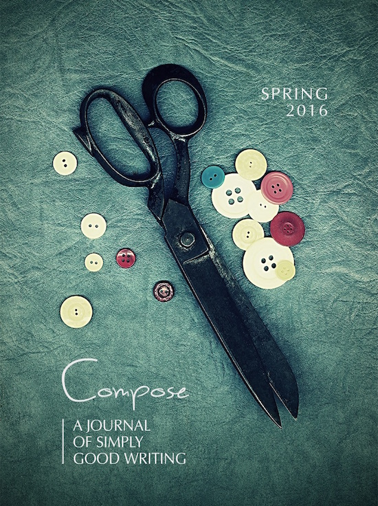 Spring 2016 Cover, Compose Journal