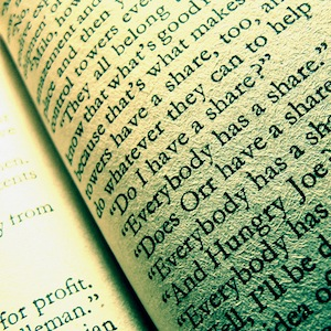 Words in book