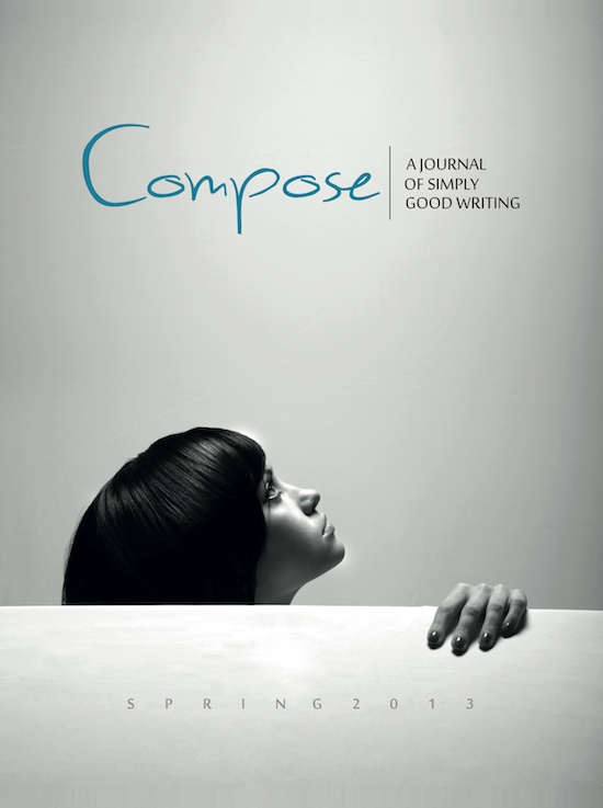Spring 2013 Cover, Compose Journal