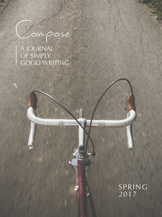 Spring 2017 Cover, Compose Journal